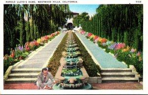 California Westwood Hills Harold Lloyd's Home