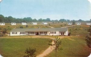 Hope New Jersey Camp Lodge Houses Birdseye View Vintage Postcard K66232