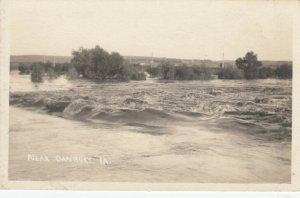 RP: DANBURY , Iowa , 1910s ; Flooding River