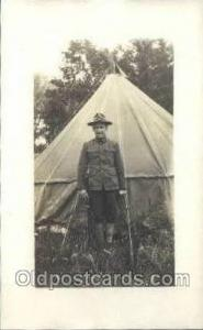 Harry Wooswick WWI Real Photo Military Soldier in Uniform Post Card Postcard ...