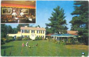 The Lord Fox Restaurant U.S. Route 1 Foxboro Massachusetts, MA, 1966 Chrome