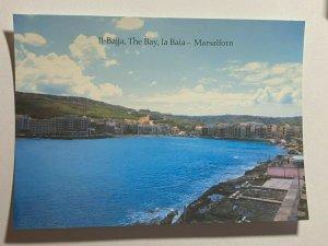 UNUSED PICTURE POSTCARD - GOZO MALTA  THE BAY MARSALFORN  (KK1858)
