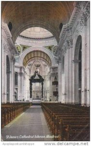 Canada Montreal St James Cathedral Interior 1908