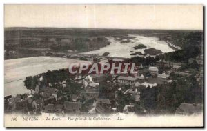 Old Postcard Nievre Loire View from the Cathedral LL