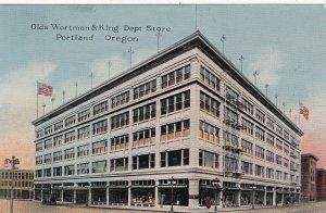 Oregon Portland Olds Wortman & King Department Store sk6350