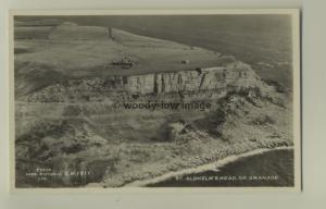 tp6190 - Dorset - Aerial View, Clliffs at St. Aldhelm's Head, Swanage - Postcard
