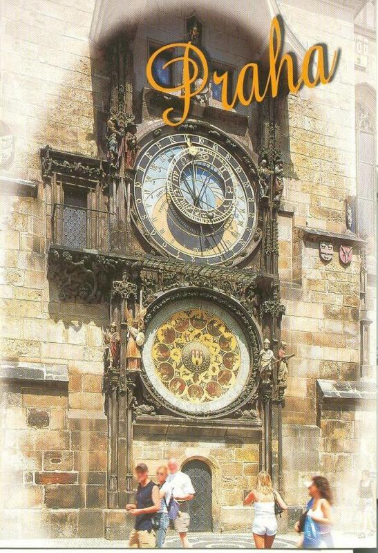 Czech Republic, Prague, Praha, The astronomical clock