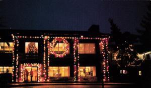 OGLEBAY , West Virginia , 60-70s ; Festival of Lights, Wilson Lodge