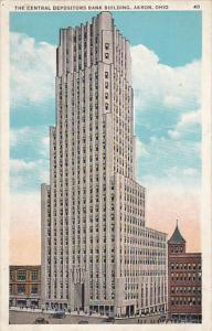Ohio Akron Central Depositors Bank Building