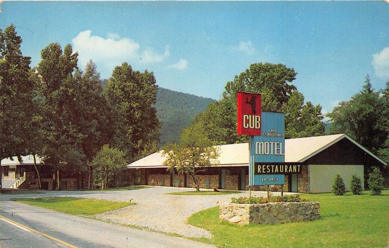 newport cosby tennessee cub motel restaurant near smoky. Black Bedroom Furniture Sets. Home Design Ideas