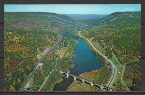 Delaware - Airview Of Delaware Water Gap - [DE-009]