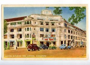 221997 SINGAPORE capitol building & cinema Old postcard