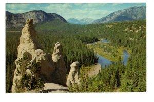 Hoodoos, Canadian Rockies, British Columbia