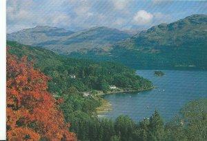 Scotland Postcard - Tarbet - Loch Lomond - Dunbarton   AB553