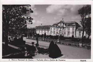 RP, Fachada Sobre O Jardim De Azereiros, Palacio Nacional De Queluz (Sintra),...