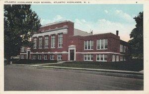 ATLANTIC HIGHLANDS , New Jersey , 1900-10s ; High School