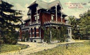 The President's Home, M. S. N. C. in Ypsilanti, Michigan