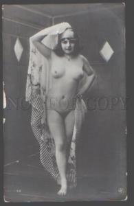098776 NUDE Woman BELLE Fernande Vintage PHOTO JA #69 PC