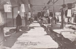 Interior of Barracks , Camp Lee, Petersburg, Virginia, 00-10s