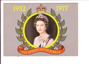 Queen Elizabeth II Sliver Jubilee, 1977