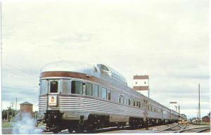 Canadian Pacific Railway 'Dominion Departs Portage La Prairie Manitoba