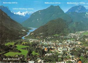 GG11828 Kurort Bad Reichenhall Gesamtansicht Reiteralpe Loferer Steiberge