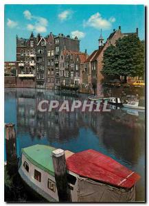 Postcard Modern Rotterdam Oud Delftshaven