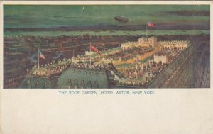 NEW YORK CITY, 00-10s ; Hotel Astor , Roof Garden