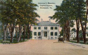RICHMOND , Virginia ,1900-10s ; Governor's Mansion, Capitol Square
