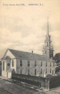 Trinity Church, Built 1726 NEWPORT Rhode Island c1910s Vintage Postcard