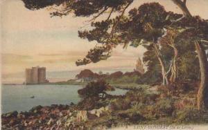 L'Ancien Monastere A Travers Les Pins, Saint-Honorat (Ile De Lerins), France,...