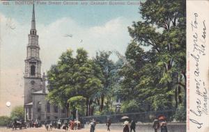 Street Church And Granary Burying Grounds, BOSTON, Massachusetts, PU-1905