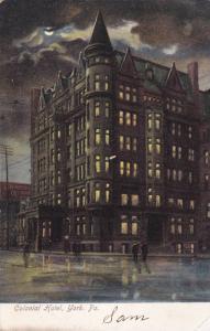 Exterior, Colonial Hotel, York, Pennsylvania,00-10s