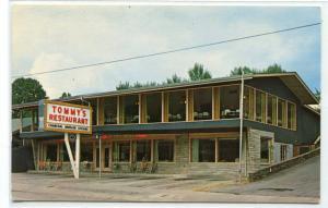 Tommy's Restaurant Gatlinburg Tennessee postcard