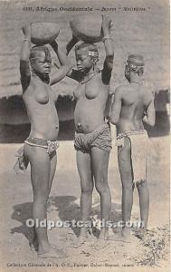 Jeunes Malinkees African Nude Unused