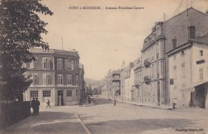 Pont-à-Mousson , France , 1919 : Avenue President-Carnot