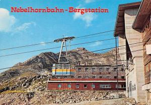 Germany Nebelhornbahn Bergstation Oberstdorf im Hochallgau