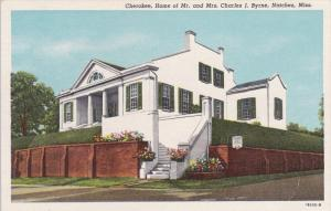 NATCHEZ, Mississippi, 1900-1910´s; Cherokee, Home Of Mr. And Mrs. Charsles J...