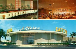Florida Pompano Beach St Clairs Cafeteria and Cocktail Lounge
