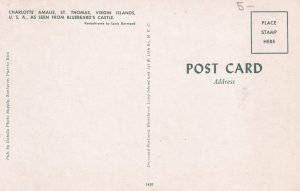 ST. THOMAS, Virgin Islands, U.S.A., 1940s-Present; Charlotte Amalie As Seen F...