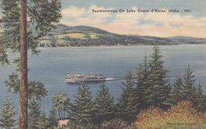 COEUR d´ALENE , Idaho , 30-40s ; Steamer SEEWEEWANA