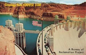 Postcard Highway 93 Hoover Dam Nevada