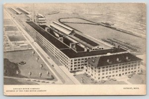 Detroit Michigan~Lincoln Motor Company Aerial View~Division of Ford~1925