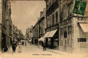 CPA LANGRES Rue Diderot (864674)