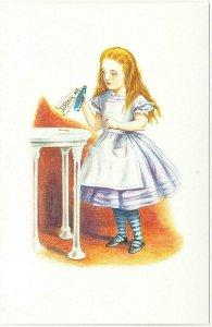 Alice in Wonderland Drink Me Bottle and Key Postcard #1 by John Tenniel