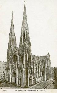 NY - New York City. St. Patrick's Cathedral
