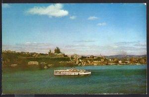 Quebec ~ S.S. Richelieu Approaching Quebec City ~ Chrome 1950s-1970s