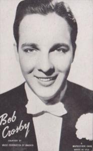 Vintage Arcade Card Bob Crosby