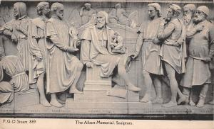 Sculptors The Albert Memorial Statues