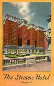 IL - Chicago, The Stevens Hotel